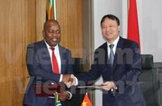 越南南非贸易混合委员会第三次会议在南非举行