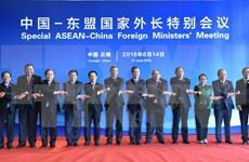 范平明副总理出席中国-东盟国家外长特别会议