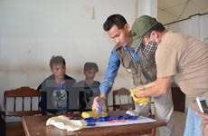 广治省逮捕非法运输毒品进入越南境内的三名老挝籍疑犯