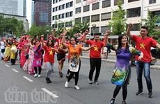 旅居德国越南人参加法兰克福多元文化节