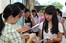 80多万名学生参加2016年越南高中毕业和大学入学国家统一考试