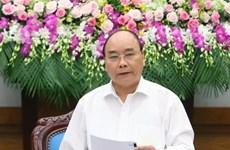 越南政府总理阮春福:努力完成2016年各经济和社会发展目标