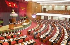 越共第十二届中央委员会第三次全体会议在河内开幕