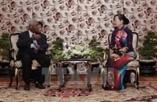 胡志明市领导人会见印度共产党代表团