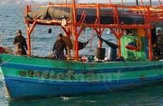 泰国海警扣留四艘越南渔船
