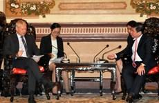 胡志明市把投资商的成功视为自己的成功