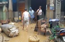 老街和莱州遭暴雨洪水 政府总理指导集中力量开展救灾工作