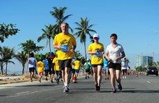 2016年岘港市国际马拉松赛正式开赛