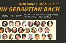 约翰•塞巴斯蒂安•巴赫音乐会在胡志明市举行