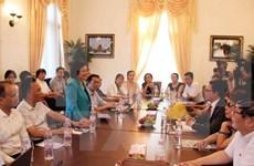 旅居德国越南人为越南山区和海岛同胞筹集善款