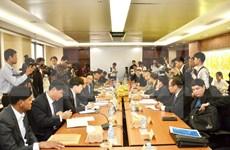 越柬陆地边界勘界立碑联合委员会会议召开