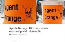 阿根廷媒体揭露美国橙剂对越南造成的恶劣影响