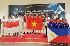 2016年东南亚击剑锦标赛:越南队共获5金