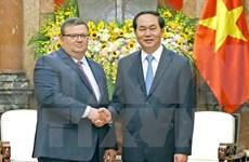 国家主席陈大光会见保加利亚总检察长察察罗夫