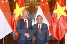 新加坡副总理张志贤对越南进行正式访问