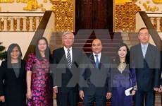 越南政府总理阮春福会见世界卫生组织西太平洋地区办公室主任