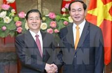 越南国家主席陈大光会见中国公安部部长郭声琨