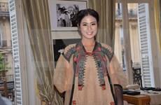 越南织锦亮相世界时尚之都