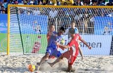 第5届亚洲海滩体育大会:越南体育代表队在奖牌榜上排名第一