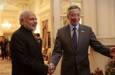 新加坡总理李显龙访问印度