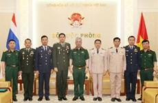 越南国防部副部长阮志咏:越南重视发展越泰防务合作关系