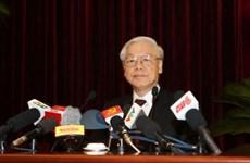 越共第十二届中央委员会第四次全体会议通过多项重要决议
