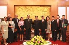 越共中央对外部部长黄平君:越南一如既往重视越古兄弟般关系