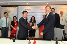 美国国际开发署和越南可口可乐合作提高越南可再生能源利用率