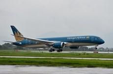 越航用A350飞机执飞胡志明市飞往大阪市航班