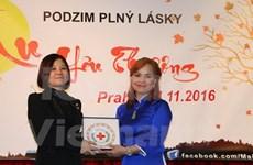 越南红十字会代表团对捷克进行工作访问