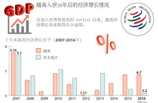 越南入世10年后的经济增长情况