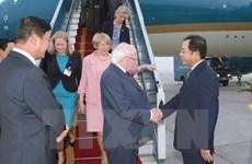 爱媒:迈克尔•希金斯总统访越是越爱建交20年的里程碑