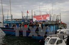 越南国家主席陈大光向菲律宾总统致以感谢信
