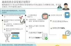 越南扶持企业发展计划简介