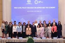2017年APEC妇女与经济高级政策对话在芹苴市举行