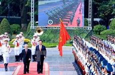 中 共中央总书记、中国国家主席习近平对越南的国事访问圆满结束
