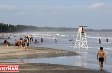 越南祖国最北的海滩——茶古海滩