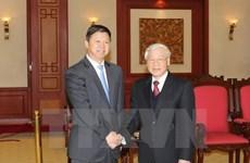 越共中央总书记阮富仲会见中共中央总书记特使宋涛