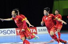 击败日本队越南队获得室内五人制足球世界杯决赛参赛资格