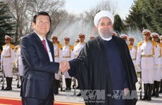 越南国家主席张晋创访问伊朗的相关活动