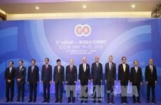 阮春福总理会见出席俄罗东盟峰会的东盟各国领导人