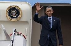 美国总统奥巴马启程对越南和日本等亚洲国家进行访问