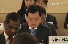 越南为联合国人权理事会第33次会议取得成功做出积极贡献