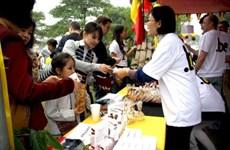 河内国际妇女俱乐部举办第25届慈善义卖活动
