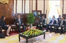 陈大光主席会见美国亚太经合组织国家中心总裁莫妮卡•惠利