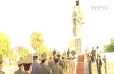 越南人民军建军72周年纪念活动在柬埔寨举行
