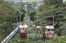 越南西宁省黑婆山迎来第一百万名旅客
