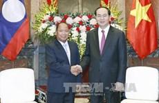 越南国家和政府领导的对外活动(组图)