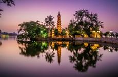 越南寺庙美丽风景