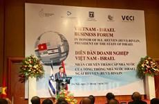 加大越以两国企业之间的合作力度